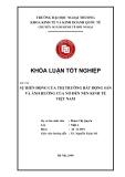 Khóa luận tốt nghiệp: Sự biến động của thị trường bất động sản và ảnh hưởng của nó đến nền kinh tế Việt Nam