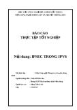 Báo cáo thực tập tốt nghiệp: IPSEC trong IPV6