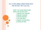 Bài thuyết trình Xử  lý NOx bằng công nghệ SCR với hệ xúc tác V2O5/ TiO2