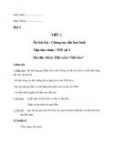 Giáo án Âm nhạc 7 bài 3: Tập đọc nhạc: TĐN số 4