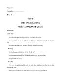 Giáo án Âm nhạc 7 bài 5: Học hát: Đi cắt lúa.Nhạc lí: Sơ lược về quãng