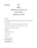 Giáo án Âm nhạc 8 bài 5: Tập đọc nhạc: Nhịp 6/8 - TĐN số 5