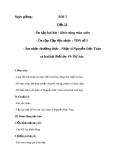 Giáo án Âm nhạc 8 bài 5: ANTT: Nhạc sĩ Nguyễn Đức Toàn và bài hát Biết ơn chị Võ Thị Sáu