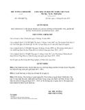 Quyết định 1586/QĐ-TTg năm 2013