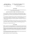 Quyết định 2112/QĐ-BNN-TCCB năm 2013