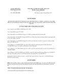 Quyết định 16/2013/QĐ-UBND bổ sung Quyết định 46/2012/QĐ-UBND