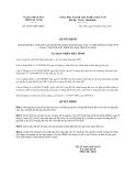 Quyết định 44/2013/QĐ-UBND tỉnh Tây Ninh