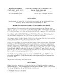 Quyết định 2152/QĐ-BNN-TCCB năm 2013