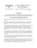 Quyết định 41/2013/QĐ-UBND thành phố Hồ Chí Minh