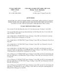Quyết định 12/2013/QĐ-UBND tỉnh Cà Mau