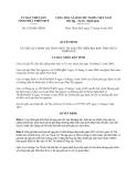 Quyết định 1925/QĐ-UBND năm 2013