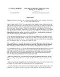 Thông báo 342/TB-VPCP năm 2013