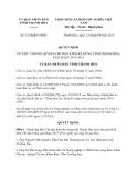 Quyết định 3210/QĐ-UBND năm 2013