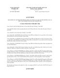 Quyết định 30/2013/QĐ-UBND tỉnh Bến Tre