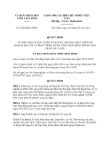 Quyết định 2055/QĐ-UBND năm 2013