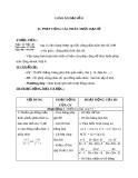 Giáo án Đại số 8 chương 2 bài 5: Phép cộng các phân thức đại số