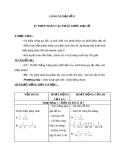 Giáo án Đại số 8 chương 2 bài 7: Phép nhân các phân thức đại số