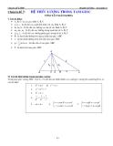 Chuyên đề LTĐH: Chuyên đề 7 - Hệ thức lượng giác trong tam giác
