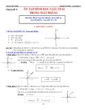 Chuyên đề LTĐH: Chuyên đề 9 - Ôn tập Hình học Giải tích trong mặt phẳng