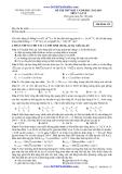 Đề thi thử ĐH đợt 2 Vật lí (2012-2013) - THPT chuyên Lê Quý Đôn - Mã đề 132