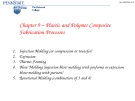 Plastic and Polymer Composite - Fabrication Processes