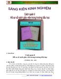 SKKN: Cách quản lý hồ sơ sổ sách giáo viên trong trường Tiểu học