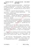 """Chuyên đề """"Một số phương pháp giải hệ phương trình""""  - GV. Lê Đình Tần"""