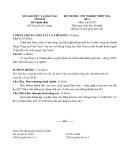 Đề thi thử tốt nghiệp THPT môn Lịch sử - Sở GD&ĐT Yên Bái năm 2014 đề 4