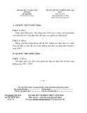 Đề thi thử tốt nghiệp THPT môn Lịch sử - Sở GD&ĐT Yên Bái năm 2014 đề 6