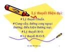 Bài giảng Kinh tế quốc tế: Chương 3 - GV. Nguyễn Hữu Lộc