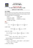 Đáp án môn Kinh tế lượng - Bài tập số 1: Ôn tập thống kê và hồi quy đơn - GV. Phạm Văn Minh