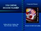 Bài giảng Tài chính doanh nghiệp: Chương 3 - ĐH Thương Mại