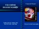 Bài giảng Tài chính doanh nghiệp: Chương 9 - ĐH Thương Mại