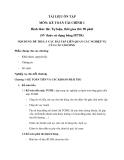Tài liệu ôn tập môn: Kế toán tài chính 1