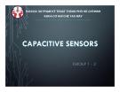 Bài giảng Capacitive Sensors