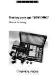 "Training package ""SENSORIC"" Manual for theory"
