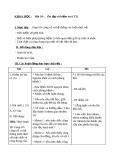 Bài 34: Ôn tập kiễm tra học kỳ 1 (TT) - Giáo án Khoa học 5 - GV:Đ.T.Lý