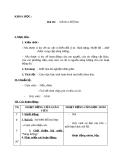 Bài 40: Năng lượng - Giáo án Khoa học 5 - GV:Đ.T.Lý