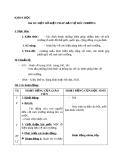 Bài 68: Một số biện pháp bảo vệ môi trường - Giáo án Khoa học 5 - GV:Đ.T.Lý