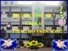 Bài Chính tả: Nghe, viết: Tiếng hò trên sông - Bài giảng điện tử Tiếng việt 3 - GV.Hoàng Thi Thơ