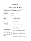 Bài Kể chuyện: Nhà bác học và bà cụ - Giáo án Tiếng việt 3 - GV.Hoàng Thi Thơ