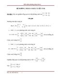 Hệ phương trình vi phân tuyến tính