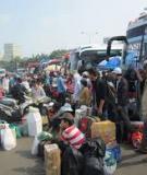 Tiểu luận nhóm: Nhập cư tại thành phố Hồ Chí  Minh – Thực trạng và giải pháp