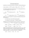 Đề thi thử Đại học môn Vật lý 2014 đề số 36