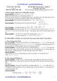 Đề thi thử Đại học Toán 12 (2013-2014) khối D - THPT Viêt Trì (Kèm đáp án)