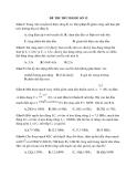 Đề thi thử Đại học môn Vật lý 2014 đề số 12