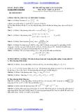 Đề thi thử Đại học môn Toán lần 1 năm 2014 khối A,A1,B,D - THPT Trần Phú (Kèm đáp án)