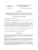 Quyết định 243/QĐ-QLD năm 2013