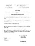 Quyết định 33/2013/QĐ-UBND tỉnh Sóc Trăng