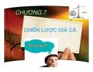 Bài giảng Marketing du lịch: Chương 7
